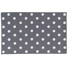 Lotsa Polka Dots Rug (Grey) in Cotton Rugs | The Land of Nod