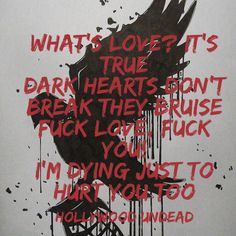 Let Go by Hollywood Undead Strong lyrics First custom made one