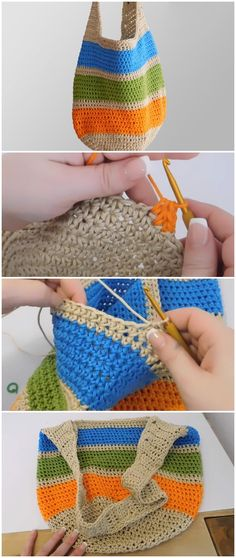 Crochet Bag - Easy Free Pattern [Video]