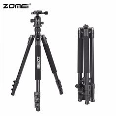 >> Click to Buy << Zomei Q555 63-inch Professional Portable Travel Aluminum Camera Tripod with 360 Degree Ball Head for Digital SLR DSLR Cameras  #Affiliate