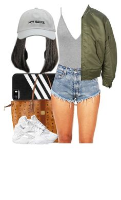 """"""""""" by msixo ❤ liked on Polyvore featuring adidas, MCM, adidas Originals and NIKE"""