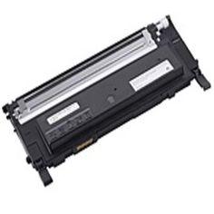 Dell 330-3578 Laser Toner Cartridge for 1235cn, 1230c Color Laser Printer - 1500 Pages - Black