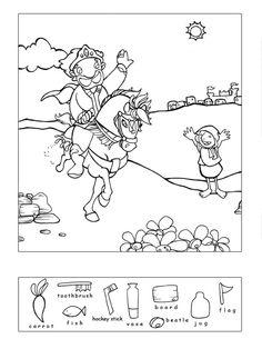 Good Samaritan & 9 other Bible story hidden puzzles