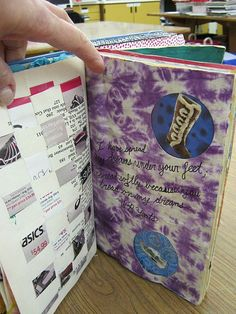 altered books: we did these in Mr. Caouette's class, so fun. great for when you are feeling crafty but don't have time for a huge project