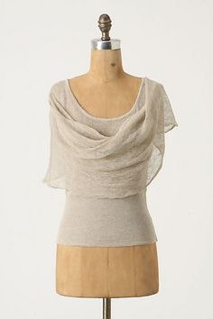 Advection Pullover, wispy linen top