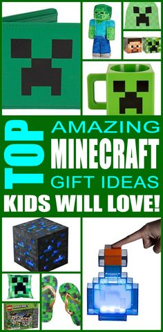 Minecraft gift ideas! Find fun Minecraft gifts for boys and girls. This is the ultimate Minecraft gift guide that kids, teens, tweens, friends and adults will love. You can always DIY your gifts but shopping for Minecraft products is so cool. Get awesome birthday gift or Christmas gifts for the Minecraft lover in your life.