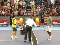 The first great match of Valencia Open 500 tenis.
