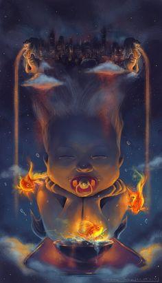 Childhood Dreams by johnsonting on DeviantArt