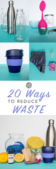 How to Go Zero Waste: It is NOT difficult or expensive to be eco friendly. It just takes a lifestyle change, breaking old habits and practice.