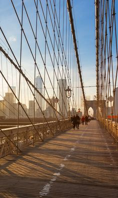 The Brooklyn Bridge! This massive bridge is another symbol of New York. It connects Manhattan to Brooklyn and is impossible to miss as you bop around the city. Have you been to the 10 most iconic spots in New York City?