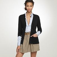 Cashmere V-neck cardi $168 from J Crew