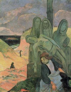 Paul Gauguin: Bretoense kruisweg (groene Christus)