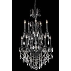 Astoria Grand Almont 10-Light Crystal Chandelier Crystal Color / Crystal Trim: Crystal (Clear) / Strass Swarovski