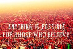 We are Liverpool: Return to Glory Premier League, Liverpool Fc Wallpaper, You'll Never Walk Alone, Liverpool Football Club, Anything Is Possible, Uefa Champions League, One Team, Believe, Words