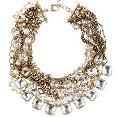 Multi-Strand Siganture Torsade Necklace #statement #fashion