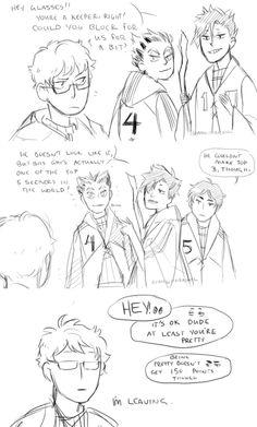 Haikyuu and Harry Potter - Tsukurooto