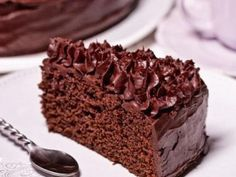 Mud cake, I'm baking it right now. Baking Recipes, Cake Recipes, Czech Recipes, Mud Cake, Chocolate Sweets, Chiffon Cake, Cake Tins, Savoury Cake, Mini Cakes