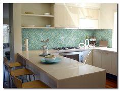 Fotos de cozinhas decoradas com pastilhas