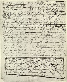 last page from the original manuscript of 'the little mermaid' by hans christian andersen.