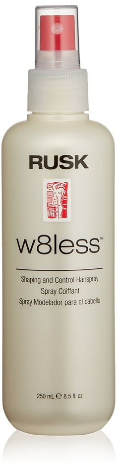 RUSK Designer Collection W8less Shaping and Control Hairspray, 8.5 fl. oz. *** This is an Amazon Affiliate link. Click on the image for additional details.