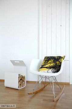 RAR Decor, Furniture, Interior, Dining, Chair, Home Decor, Rocking Chair, Scandinavian Interior, Yellow