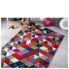 Flair Illusion Prism Rug - Pink/Multi: Image 11