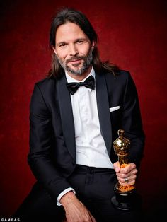 Screen wizard: Linus Sandgren won for Achievement in cinematography, for work on La La Land