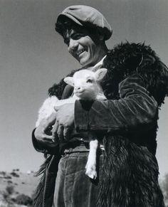 Wolfgang Suschitzky, Sheperd, Sardinia, 1950
