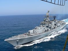 INS Mysore(D60): a Delhi-class guided-missile destroyer currently in active service with the Indian Navy.