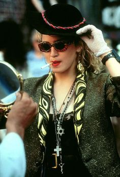 """Madonna in """"Desperately Seeking Susan"""" Madonna Movies, 1980s Madonna, Madonna Music, Desperately Seeking Susan, 80s Trends, La Madone, Top 10 Hits, Still Love Her, Fancy Dress Outfits"""