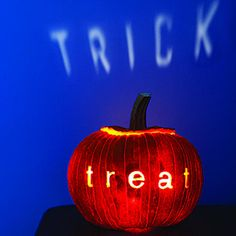 Sneaky jack-o'-lantern, a tricky message is a visual treat | Sunset