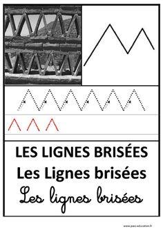 Lignes brisées – Graphisme – Affichages pour la classe – Maternelle – PS – MS – GS – Pass Education
