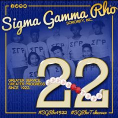 Happy 22nd Sorors :) Ee-Yip !!