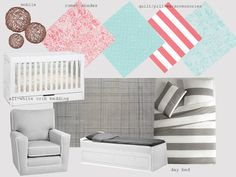 Cherry Street Cottage: Baby K: nursery design plan and a baby quilt