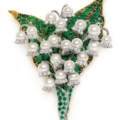 Fulco di Verdura's Lily of the Valley brooch / ♥ we love gold ♥: Tudo florido ♥ !
