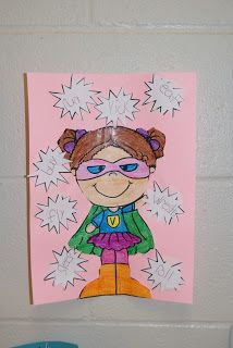 Action heroes for action verbs. (Could create a superhero self portrait that uses an action verb that describes them in some way.) first grade 2nd Grade Grammar, 2nd Grade Ela, 1st Grade Writing, First Grade Reading, Second Grade, Grade 2, Verb Activities For First Grade, Writing Activities, Grammar Activities