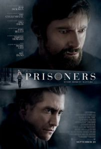 """My review of the film """"Prisoners"""" - excerpt: """"The movie is directed by Canadian Denis Villeneuve who shows a surprising level of fair-mindedness for our nation's current warts-and-all rugged surburban survivalism. The atmosphere is overcast and thick, defined smartly by the bleak Midwestern weather that typically blankets the Thanksgiving holiday."""" Read the rest at the link ...  http://reelroyreviews.com/2013/09/23/pray-for-the-best-prepare-for-the-worst-prisoners/"""
