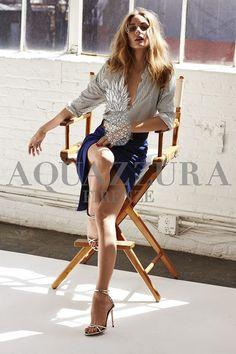 Olivia Palermo x Aquazzura Collaboration