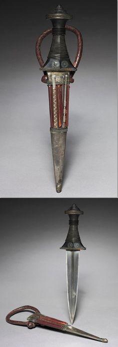 SUDANESE arm dagger, Sudan.