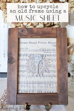 Sharing a super fun easy way to make a Vintage Farmhouse Hook Using Pallet Wood   www.raggedy-bits.com   #raggedybits #DIY #vintage #farmhouse #hook #pallet #wood #wallart Pallet Wood, Wood Pallets, Japanese Knot Bag, Paper Gift Bags, Old Frames, Diy Frame, Vintage Farmhouse, Dollar Stores, Diy Tutorial