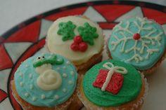 Christmas Cupcake Decorations | Christmas Cupcakes