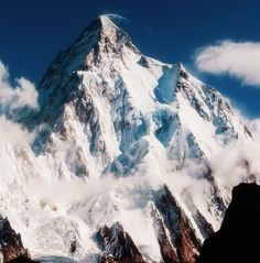Get as close to K2 you can. Base camp will do.