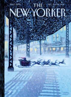 Cover Story: Too Many Santas : The New Yorker