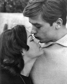 With Romy Schneider 1959