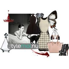 Black style ... by malikdesign on Polyvore featuring moda, Alberta Ferretti, PilyQ and Peugeot