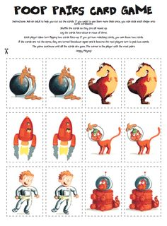 If you're looking for something fun to do with your children with a space (and poop!) theme, you can download your free Dinosaur That Pooped A Planet activity pack below, with colouring, space facts and a poop pairs game!
