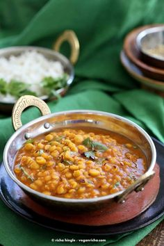 Easy Chana Dal Recipe. Split Chickpea Soup - Vegan Richa