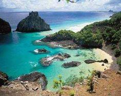 Fernando de Noronha - Brasil  Las playas mas bonitas y el mar con los colores mas lindos