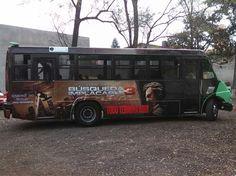 BUS DE DISEÑO PELÍCULA TAKEN 3 MÉXICO CONTRATA