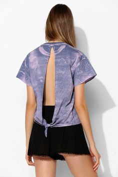Project Social T Galaxy Open-Back Tee